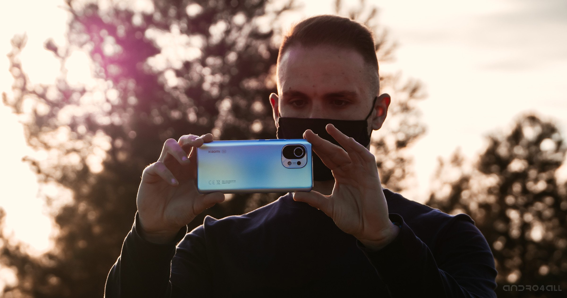 Xiaomi Mi 11, arrière