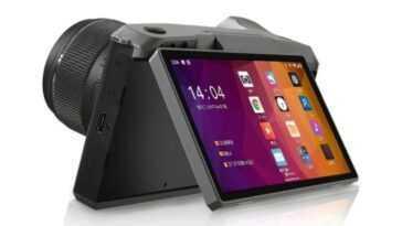 Cette Nouvelle Caméra Evil Est Aussi Un Mobile Android