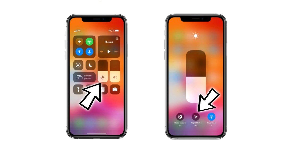 Activer le filtre de lumière bleue iOS
