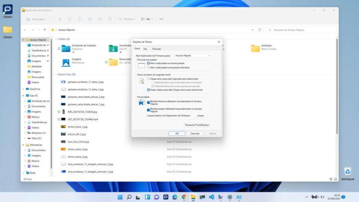 Opsi Folder File untuk Microsoft Windows 11