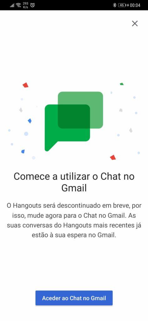 Service de messagerie Google Hangouts Talk