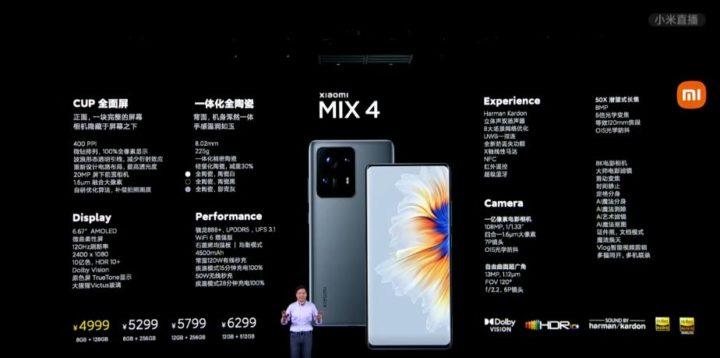 1628604370 540 Xiaomi MIX 4 est officiel Lere des ecrans infinis