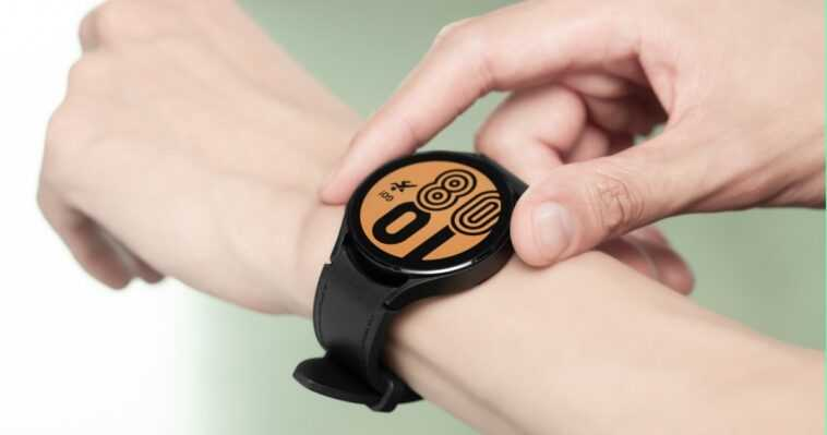 Le Nouveau Samsung Galaxy Watch4 Avec Wearos N'est Pas Compatible
