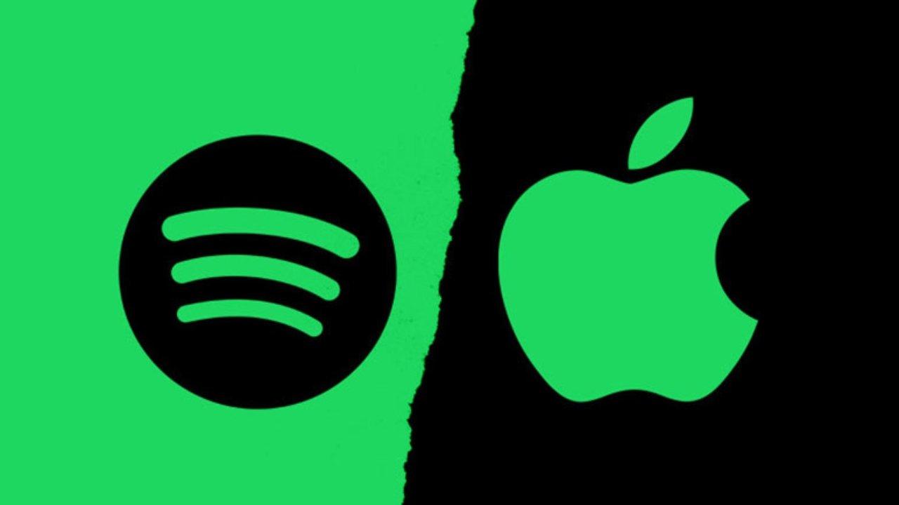 Spotify contre Apple