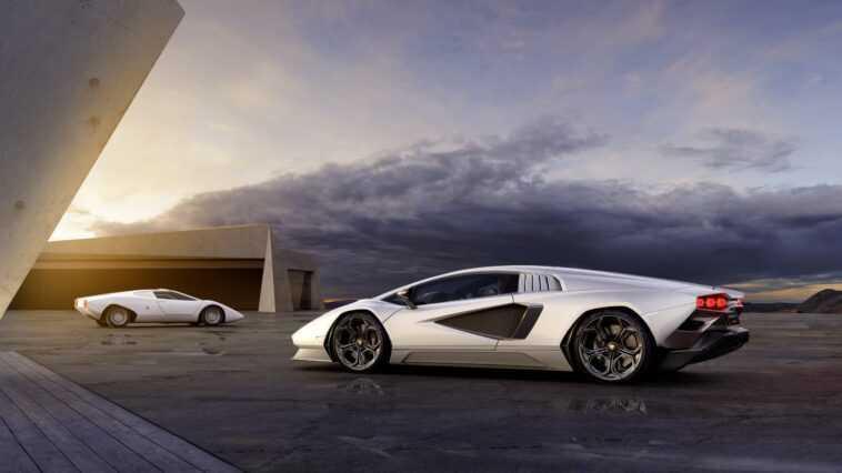 Lamborghini Ramène La Countach En Tant Qu'hybride En édition Limitée,
