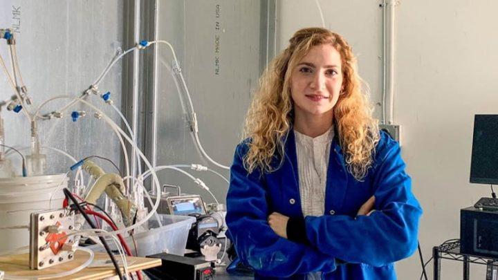 Laureen Meroueh, chercheuse au MIT.