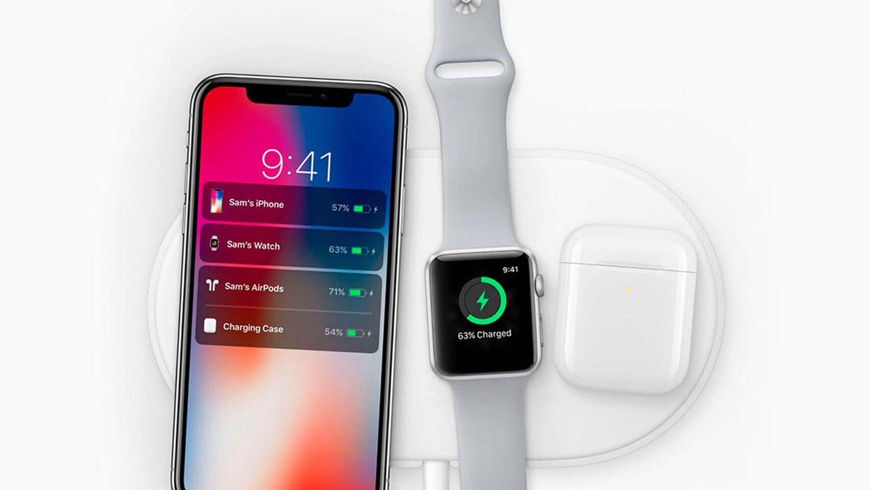 Chargement sans fil iPhone