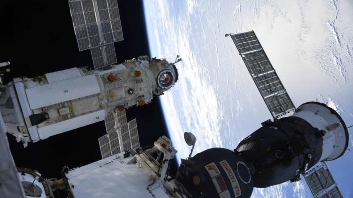 Module Russie sur l'ISS