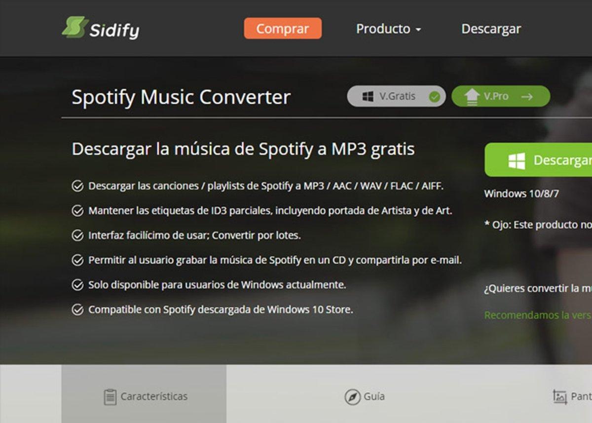 Convertisseur de musique Sidify