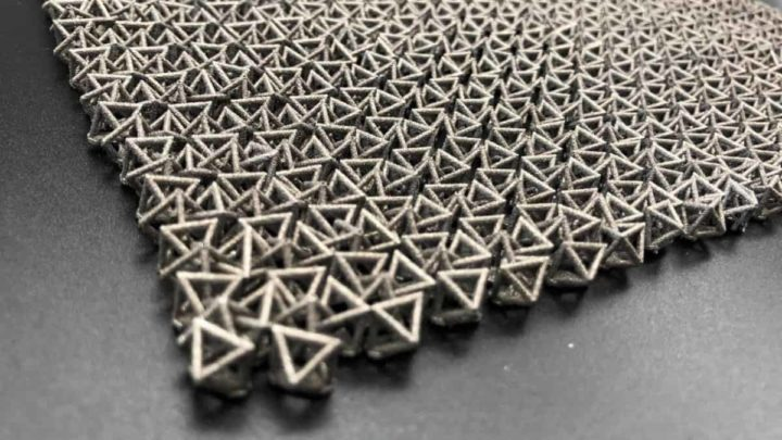 Image octaèdre de tissu dur