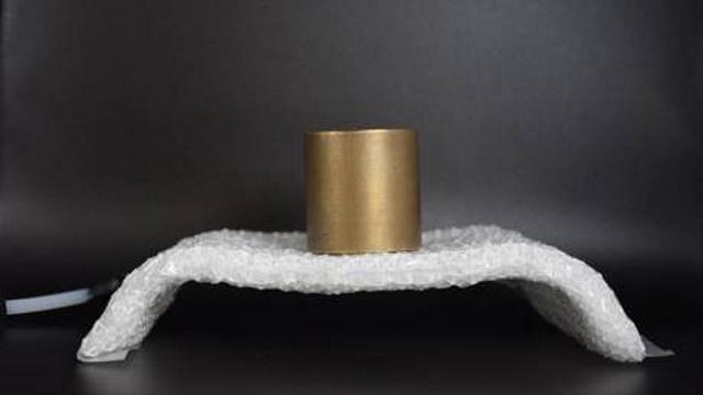 Image en tissu rigide en forme de pont