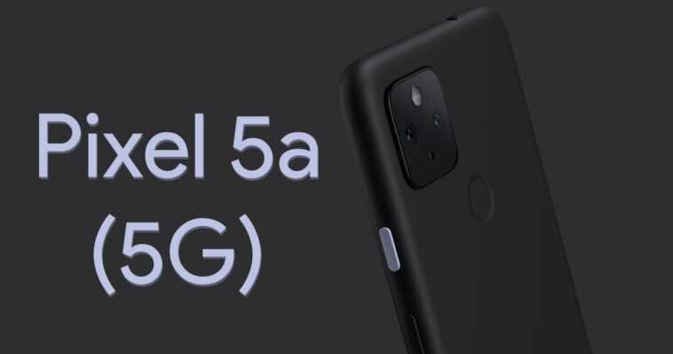 Le Google Pixel 5a Aura La Plus Grande Batterie Vue