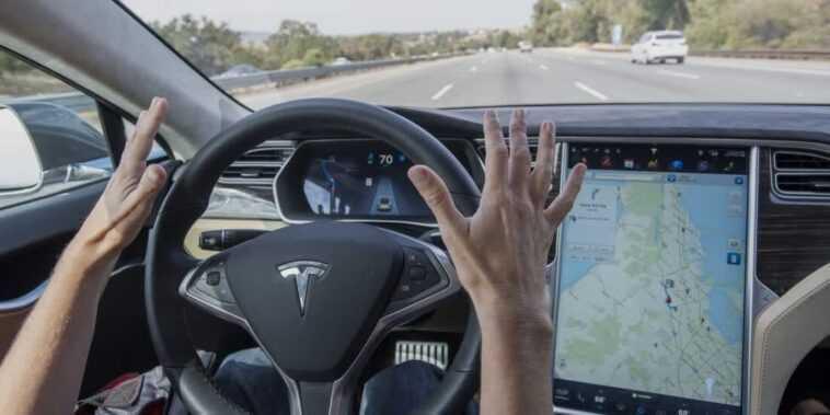 Le Pilote Automatique De Tesla Fait L'objet D'une Enquête Après