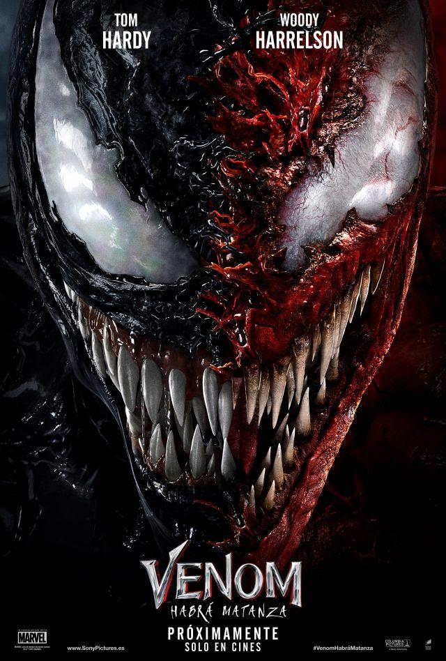 Venom: There Will Be Carnage dévoile deux nouvelles affiches époustouflantes et réaffirme sa date de sortie