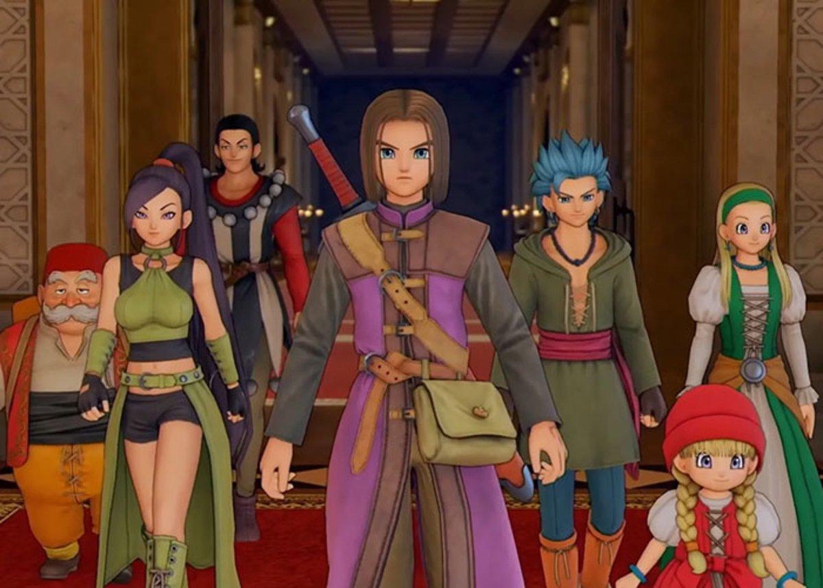 Dragon Quest XI-fr Microsoft Cloud Gaming