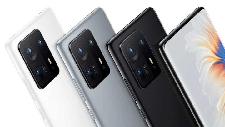 Ventes de smartphones Xiaomi Mi MIX 4 Mi Pad 5