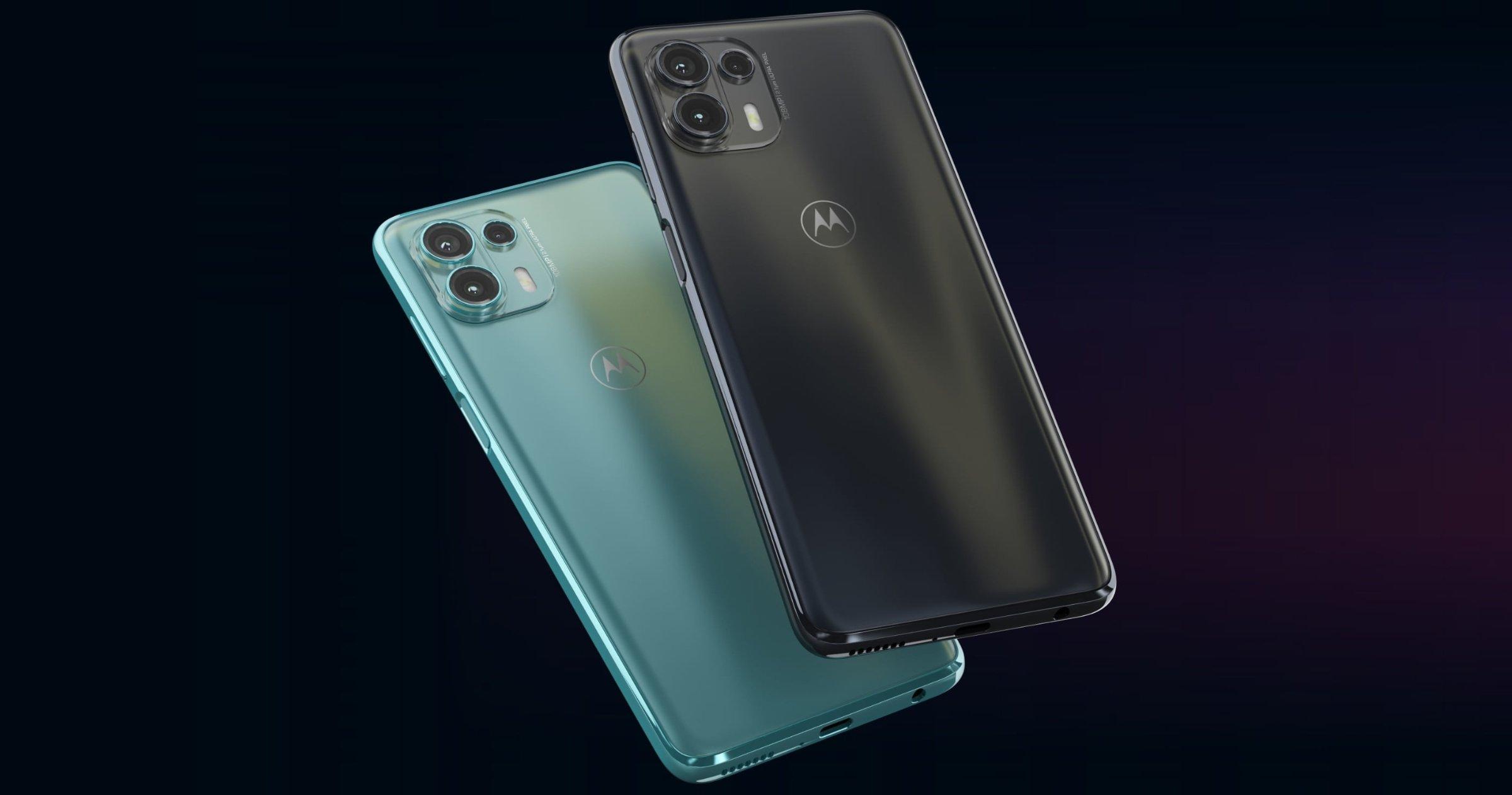 Motorola Edge 20 Fusion, arrière