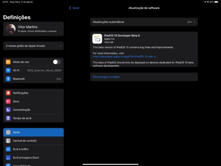 1629233825 994 iOS 15 beta 6 et iPadOS 15 beta 6 desormais