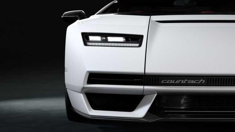 L'hybride Countach D'inspiration Rétro De Lamborghini Est Déjà épuisé