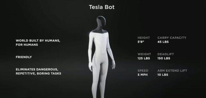 Tesla Bot : le robot humanoïde qui veut remplacer l'Homme dans de nombreuses tâches