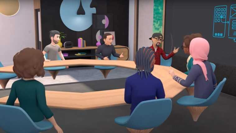Facebook Lance Les Réunions D'entreprise En Réalité Virtuelle : Voici