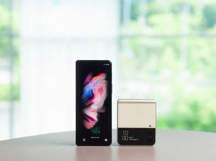 Le Galaxy Z Fold3 Et Le Z Flip3 De Samsung
