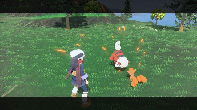 Arceus Pokémon Legends : Hisui Growlithe