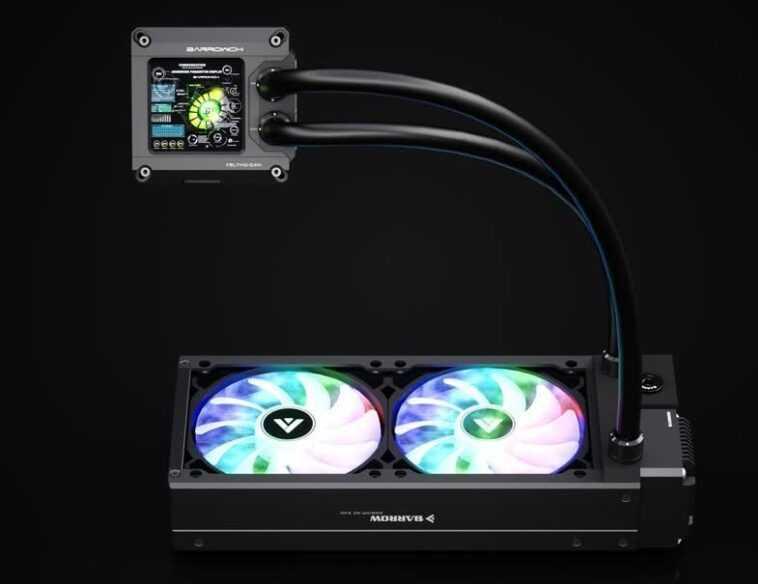 Découvrez Ce Refroidisseur De Liquide Aio Doté D'un écran 1440p