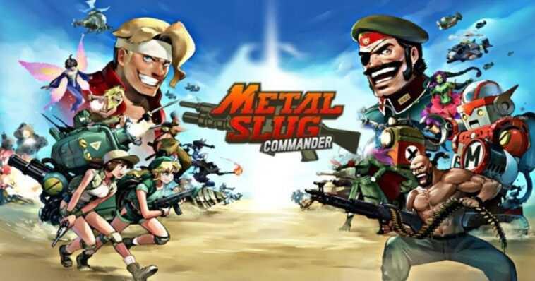 Metal Slug : Commander Est Désormais Disponible Sur Google Play