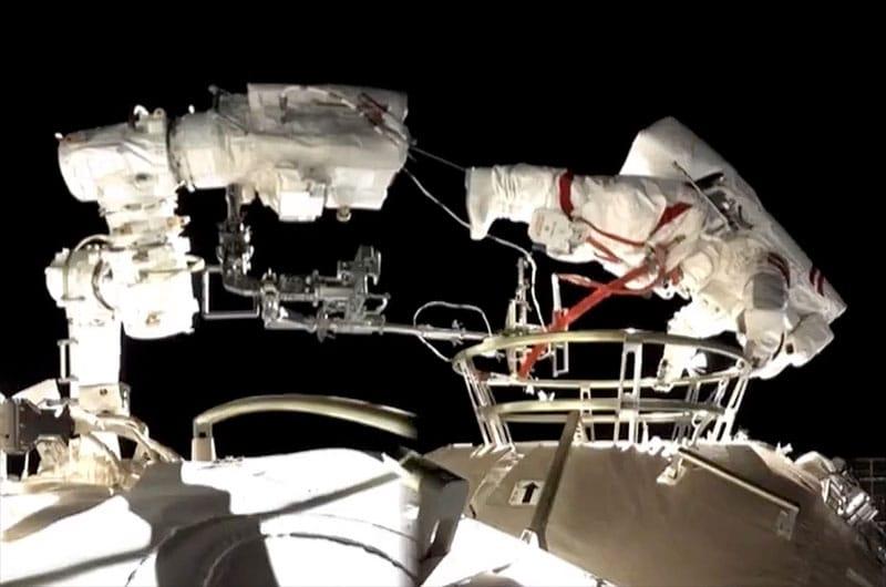 Station spatiale chinoise de la mission Shenzhou-12