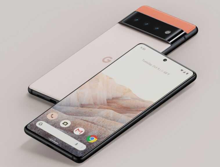 Les Pixel 6 Et 6 Pro De Google Ont Beaucoup