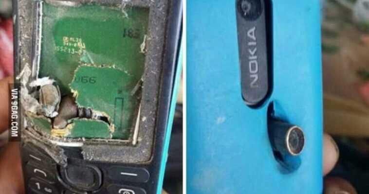 L'histoire D'un Vieux Nokia Qui A Arrêté Une Balle Et