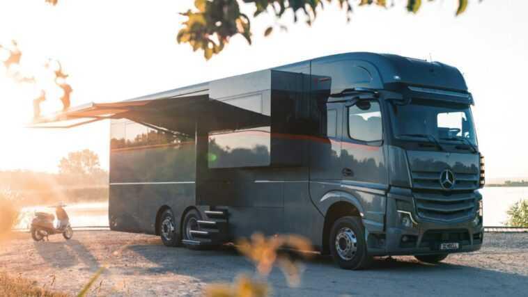 À L'intérieur Du Camping Car De 2 Millions De Dollars Avec