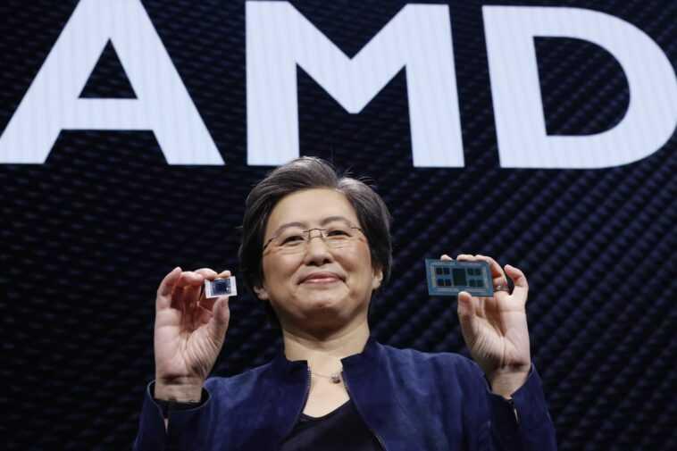 Amd Capture 22,5% Du Marché Des Processeurs X86, La Part