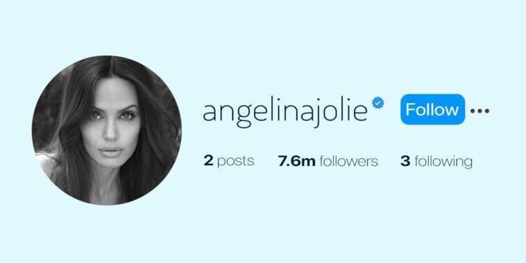 Angelina Jolie Franchit Les 7 Millions De Followers Sur Instagram