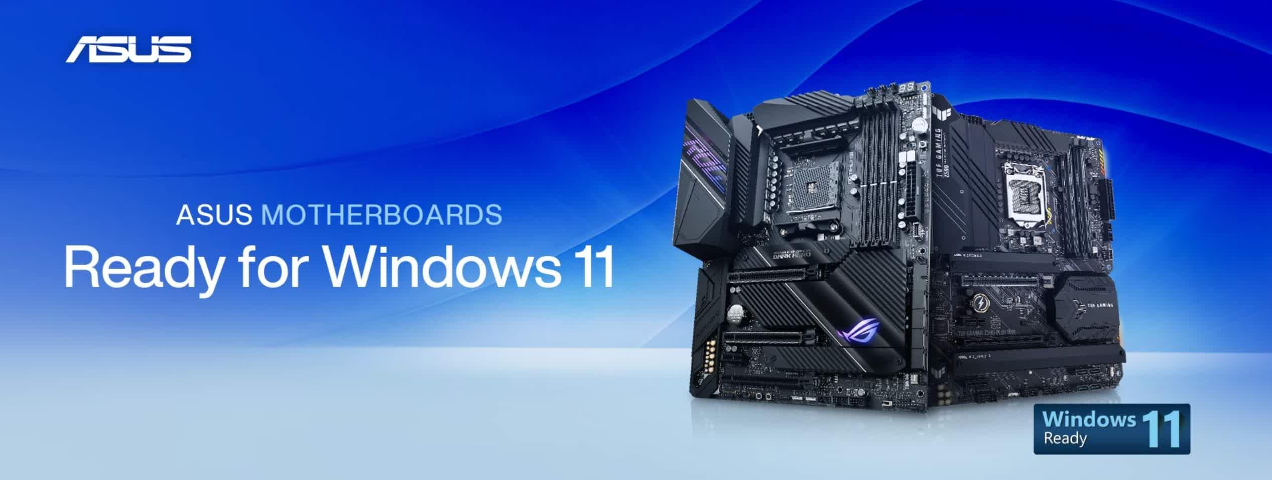 Asus deploie la prise en charge de Windows 11 sur