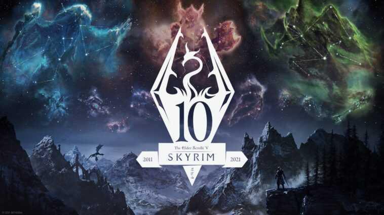 Bethesda Annonce Une édition Du 10e Anniversaire De 'skyrim' Qui
