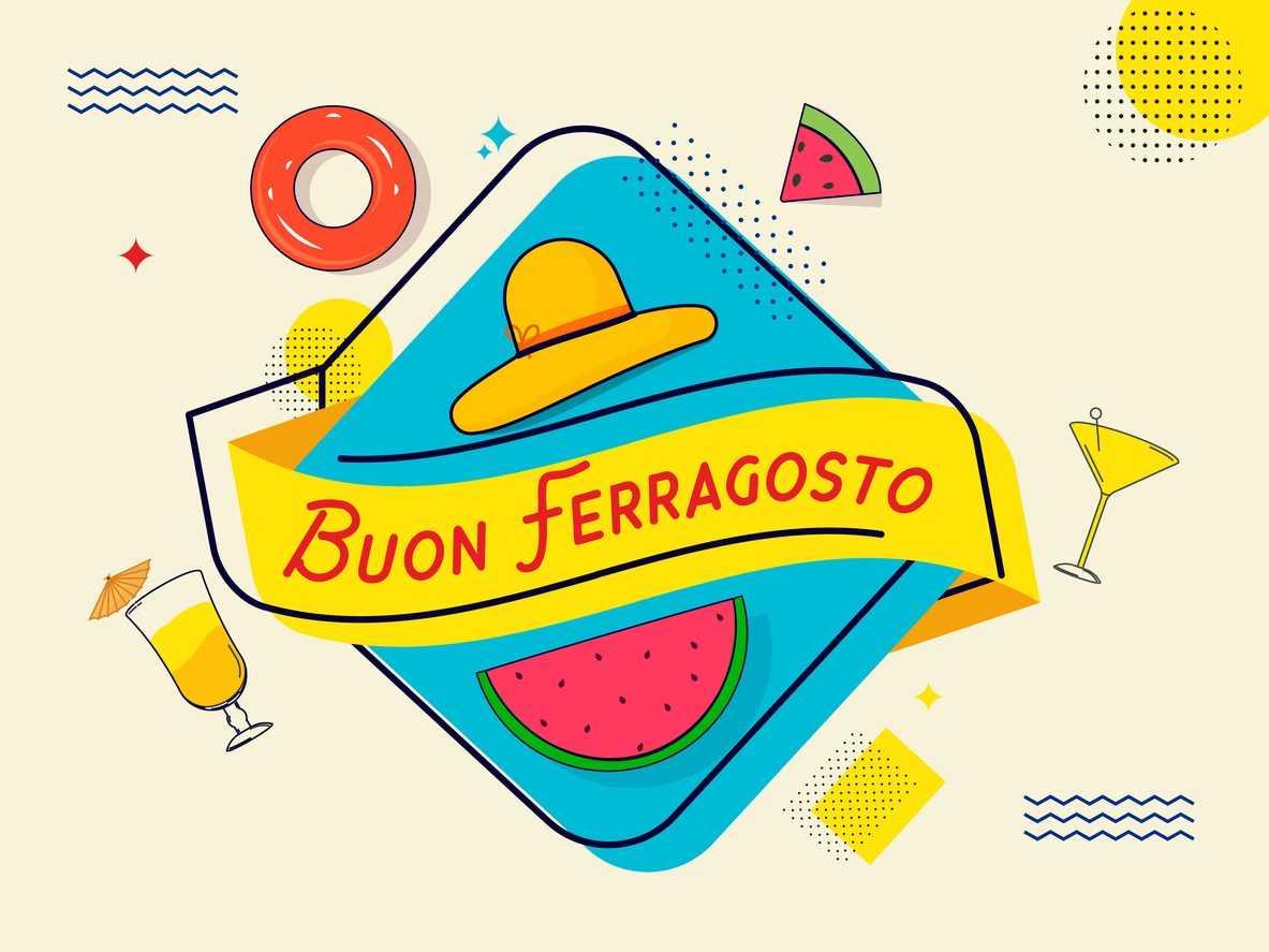Buon Ferragosto 2021 sur Whatsapp les meilleures images a telecharger