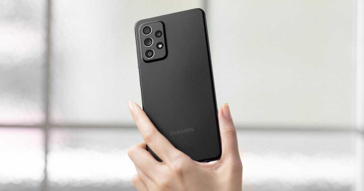 Samsung Galaxy A52 noir