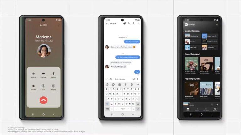 Ces smartphones pliables sont lavenir de Samsung