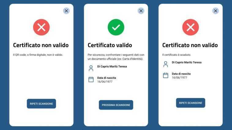 Comment Fonctionne L'application Verifiedc19 Qui Vérifie Les Laissez Passer Verts (et