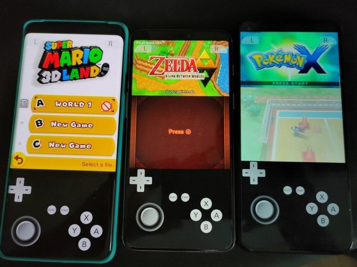 Émulateur Android Nintendo 3DS