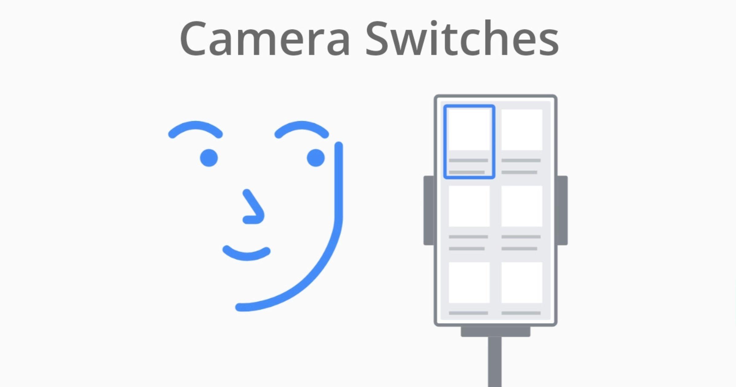 Commutateurs de caméra sur Android