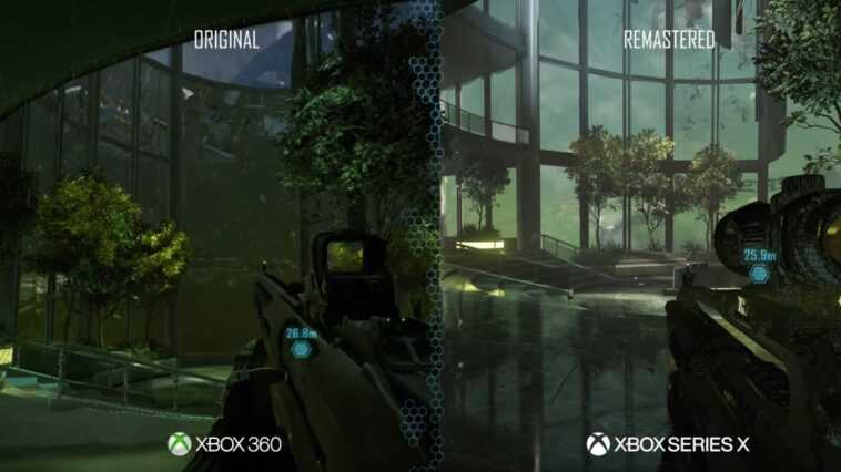 Crysis Remastered Trilogy Se Muscle : Comparaison Entre Xbox 360