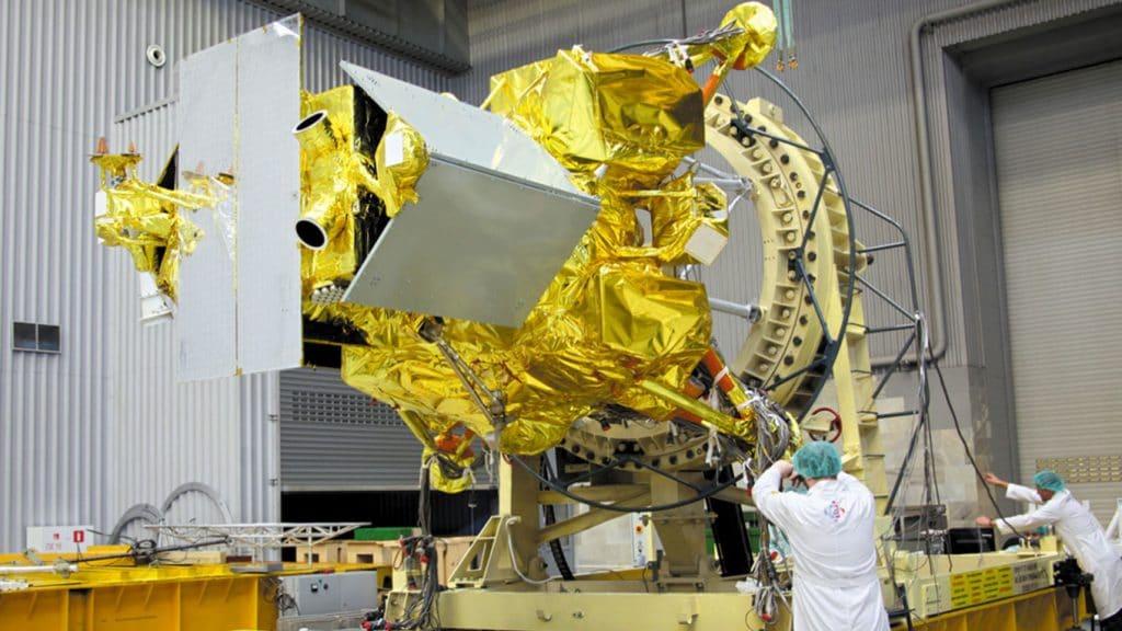 Le vaisseau spatial Luna-25, qui a connu des problèmes techniques et contraint la Russie à reporter sa mission lunaire à 2022