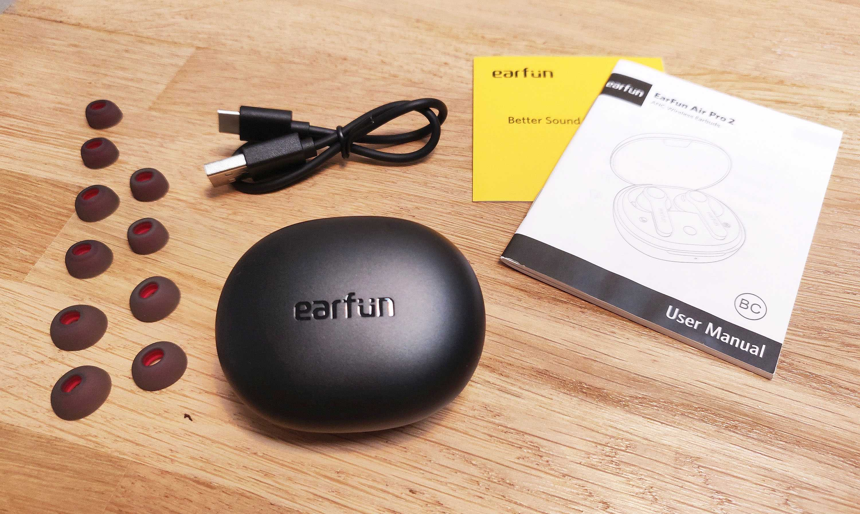 Earfun Air Pro 2 Test Review Bundle