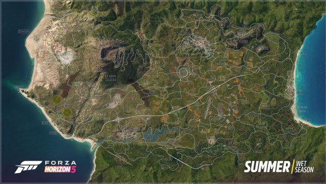 Forza Horizon 5 Karte in Mexiko enthüllt