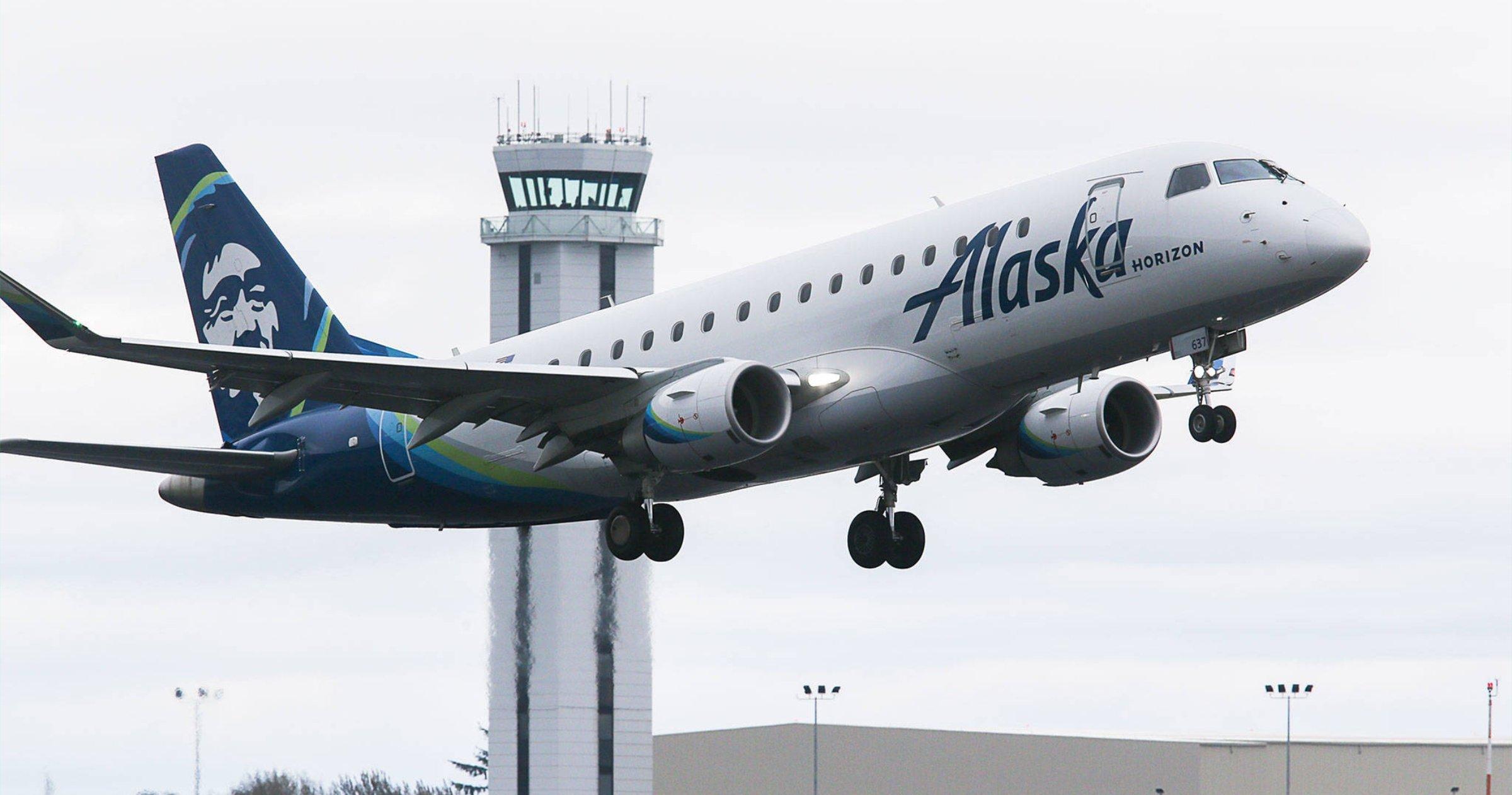 vol Alaskan Airlines