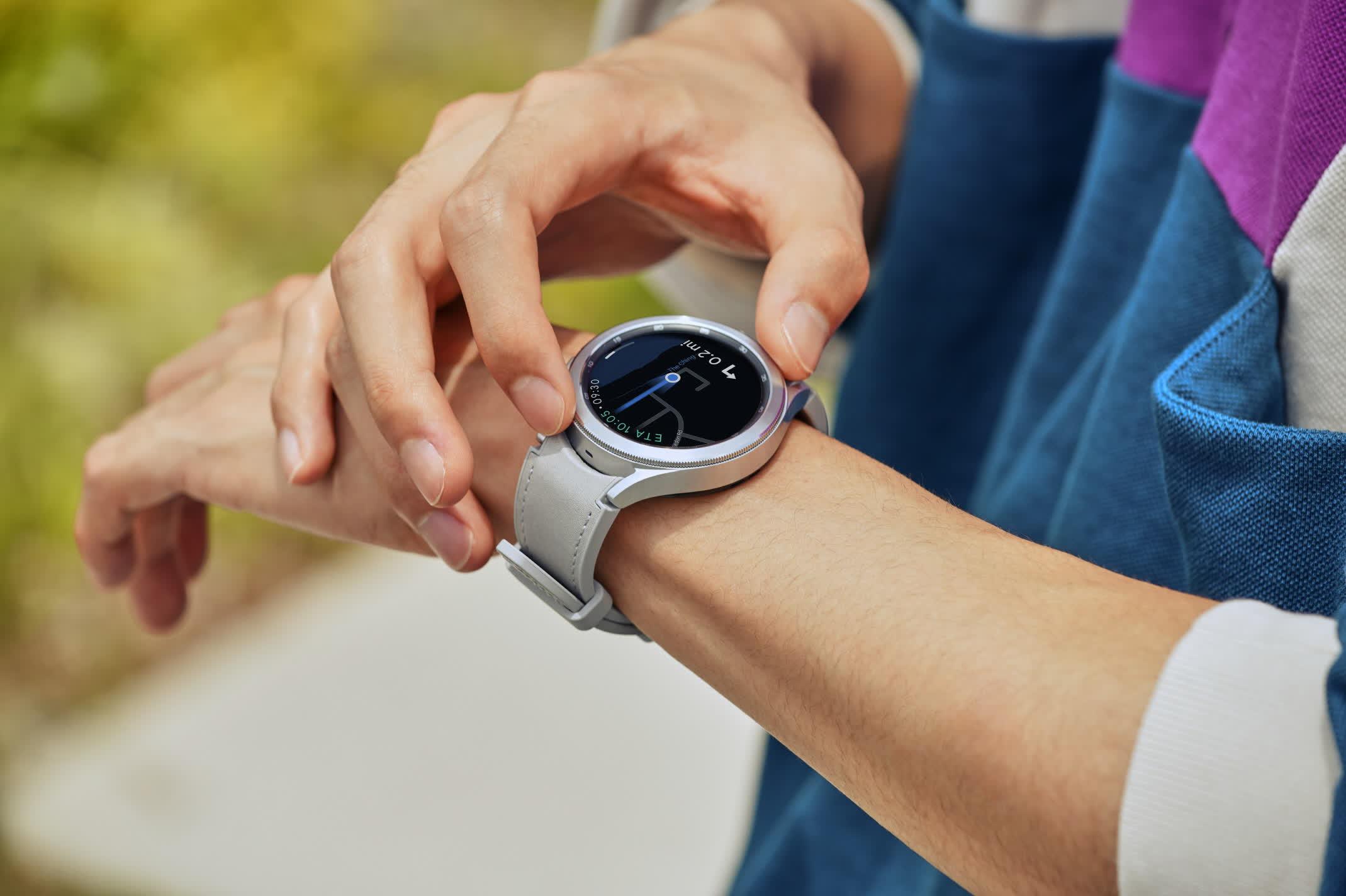 La Galaxy Watch4 est le premier portable Samsung avec le