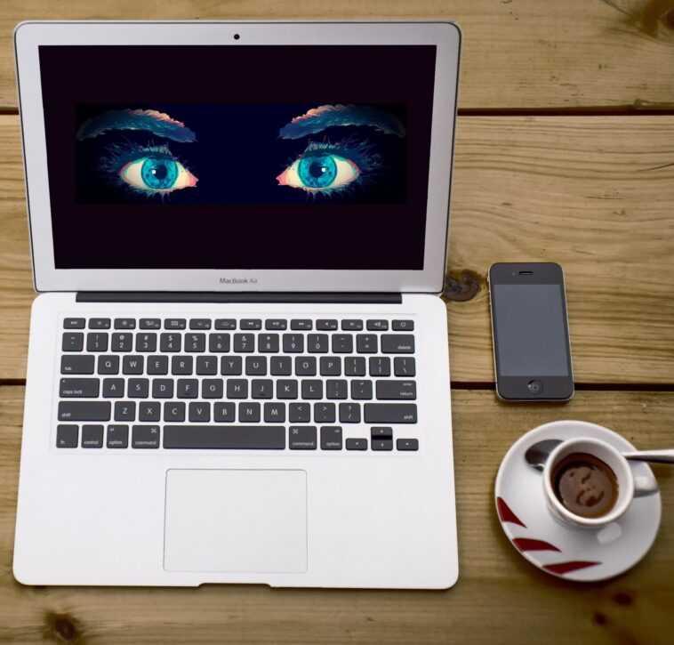 Le Projet D'apple De Scanner Les Appareils à La Recherche